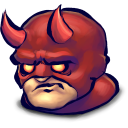 128x128px size png icon of Comics Face Afraid