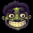 128x128px size png icon of Comics Hulk Happy