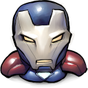 128x128px size png icon of Comics Iron America