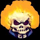 128x128px size png icon of Comics Johnny Blaze