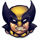 128x128px size png icon of Comics Logan