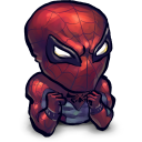 128x128px size png icon of Comics Spiderman Baby