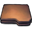 128x128px size png icon of Folder Brown