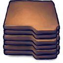 128x128px size png icon of Folders