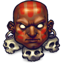 128x128px size png icon of Street Fighter Dhalsim
