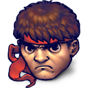 128x128px size png icon of Street Fighter Ryu