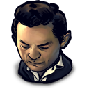 128x128px size png icon of TV Johny Cash