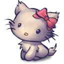 128x128px size png icon of TV Kitty