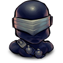 128x128px size png icon of TV Snake Eyes