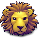 128x128px size png icon of Young Lion