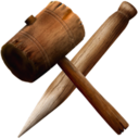 128x128px size png icon of Hammer Stake