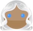 128x128px size png icon of storm happy