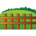128x128px size png icon of Farm fence