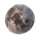 128x128px size png icon of 05 moon