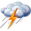 128x128px size png icon of Thunder