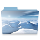 128x128px size png icon of ice folder