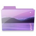 128x128px size png icon of sea folder