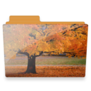 128x128px size png icon of tree folder