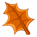 128x128px size png icon of Drought Leaf