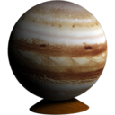 128x128px size png icon of Jupiter