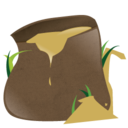 128x128px size png icon of sack full