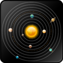 128x128px size png icon of Solar system