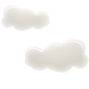 128x128px size png icon of Cloudy