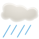 128x128px size png icon of Light Showers