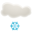 128x128px size png icon of Light snow