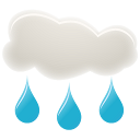 128x128px size png icon of Rain