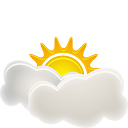 128x128px size png icon of Sunny Interval