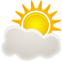 128x128px size png icon of Sunny Period