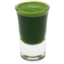 128x128px size png icon of Wheatgrass juice shot