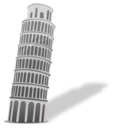 128x128px size png icon of Leaning tower of pisa