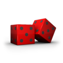 128x128px size png icon of Dice