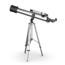 128x128px size png icon of Telescope