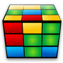 128x128px size png icon of Rubiks cube