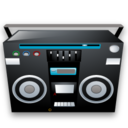 128x128px size png icon of Tape recoder