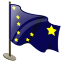 128x128px size png icon of Alaska Flag