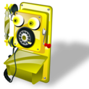 128x128px size png icon of Telephone