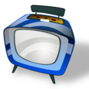 128x128px size png icon of Television