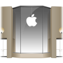 128x128px size png icon of Apple Store Louvre Front