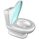128x128px size png icon of Water closet