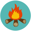128x128px size png icon of Camp Fire Stories