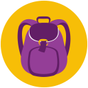 Hiking Backpack Icon