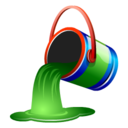 128x128px size png icon of fill
