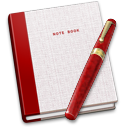128x128px size png icon of Notebook Pen