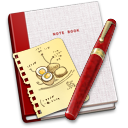 128x128px size png icon of Notebook Recipe