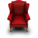 128x128px size png icon of RedCouch
