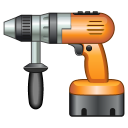 128x128px size png icon of Drill